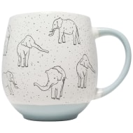 Animal Print Dip Mug - Elephant