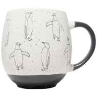Animal Print Dip Mug - Penguin