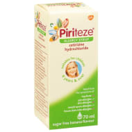 Piriteze Kids Allergy Syrup 70ml