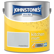 Johnstone's Paint Kitchen Matt - Frosted Silver 2.5L