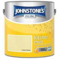 Johnstone's Paint Kitchen Matt - Lemon Daze 2.5L