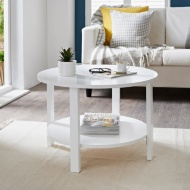 Lundes 2 Tier Coffee Table
