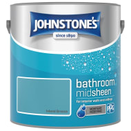 Johnstone's Paint Bathroom Midsheen - Island Breeze 2.5L