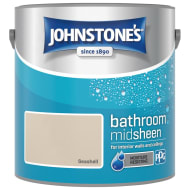 Johnstone's Paint Bathroom Midsheen - Seashell 2.5L