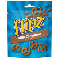 Flipz Milk Chocolate Pretzels 100g
