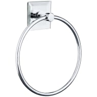 Mirrored Towel Ring