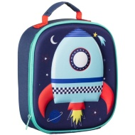 3D Insulated Lunch Bag - Rocket