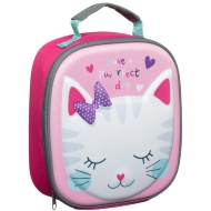 3D Insulated Lunch Bag - Cat