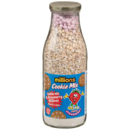 Millions Cookie Mix Strawberry 322g