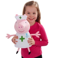 Peppa Pig Plush Toy - Nurse