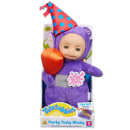 Party Teletubbies Talking Plush Toy - Tinky Winky