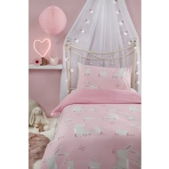 Kids Single Duvet Set - Bunnies