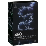 Christmas Cluster Micro Lights 480pk - Cool White