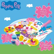 Peppa Pig Tea Party Play Dough Set