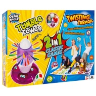2-in-1 Twisting Turmoil & Tumble Tower