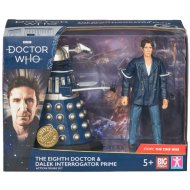 Doctor Who Collectible Action Figure - Eighth Doctor & Dalek Prime