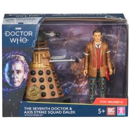 Doctor Who Collectible Action Figure - Seventh Doctor & Dalek