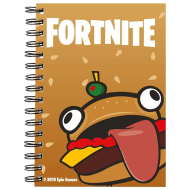 Fortnite A5 Notebook - Durrr Burger