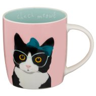 Cat Mug - Check Meowt