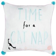 Pet Cushion - Time for a Cat Nap
