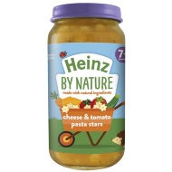 Heinz By Nature Cheese & Tomato Pasta Stars 200g