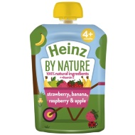 Heinz By Nature Pouch - Strawberry, Banana, Raspberry & Apple