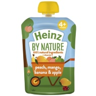 Heinz By Nature Pouch - Peach, Mango, Banana & Apple