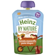 Heinz By Nature Pouch - Tomato Mozzarella Pasta Shapes