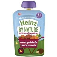 Heinz By Nature Pouch - Sweet Potato & Beef Casserole
