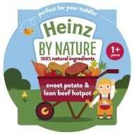 Heinz By Nature - Sweet Potato & Lean Beef Hotpot