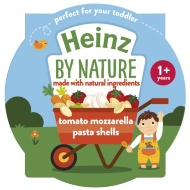 Heinz By Nature - Tomato Mozzarella Pasta Shells
