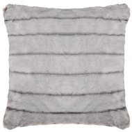 Luxury Sable Faux Fur Cushion - Natural