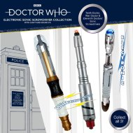 Doctor Who Sonic Screwdriver Assortment