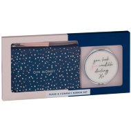 Purse & Compact Mirror Set - Gin Money