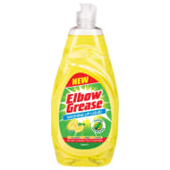 Elbow Grease Washing Up Liquid Lemon 740ml