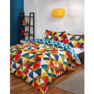 Geo King Duvet Set - Multi