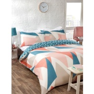 Geo King Duvet Set - Triangle