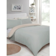 Reversible King Duvet Set - Grey