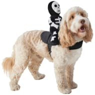 Halloween Ride-On Dog Costume - Skeleton