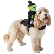 Halloween Ride-On Dog Costume - Witch