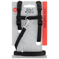 Billy & Macy Cat Harness - Black