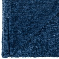Two Tone Super Soft Throw - Navy