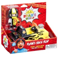Ryan's World Action Figure & Vehicle - Race Rod