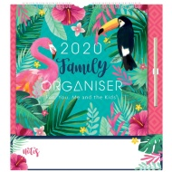2020 Family Organiser - Tropical