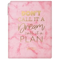 2020 Marble Planner Diary - Pink