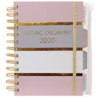 2020 Organiser Diary - Getting Organised