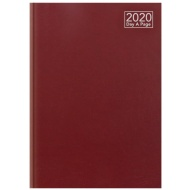 2020 Day A Page A4 Diary - Red