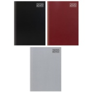2020 Week to View A5 Diary - Black