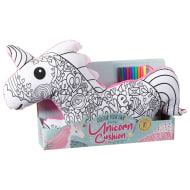 Colour Your Own Unicorn Cushion