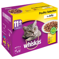 Whiskas Jelly Poultry Selection 12pk